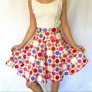 Kate Spade | Geometric A Line Skirt 00
